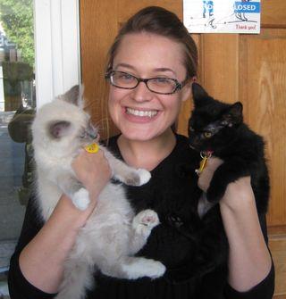 Sebastian Annie & adopter