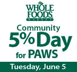 Whole Foods Community 5% Day