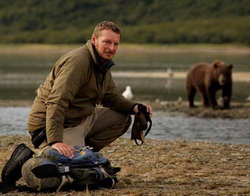 PBS Nature Host Chris Morgan live in Bellingham on Feb 17