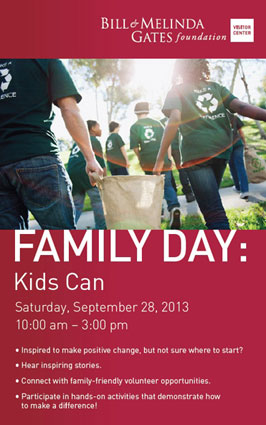 Gates Foundation Family Day