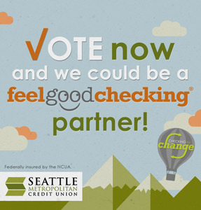 SMCU Feel Good Checking - Vote for PAWS!