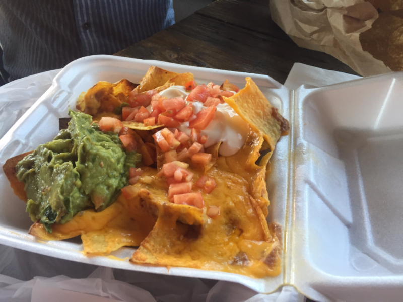 Nachos at Sno-town